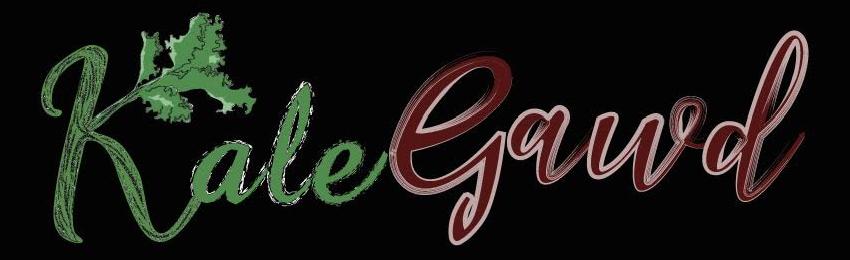 Kale Gawd Type Logo