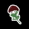 Product image mockup of Kale Gawd sticker